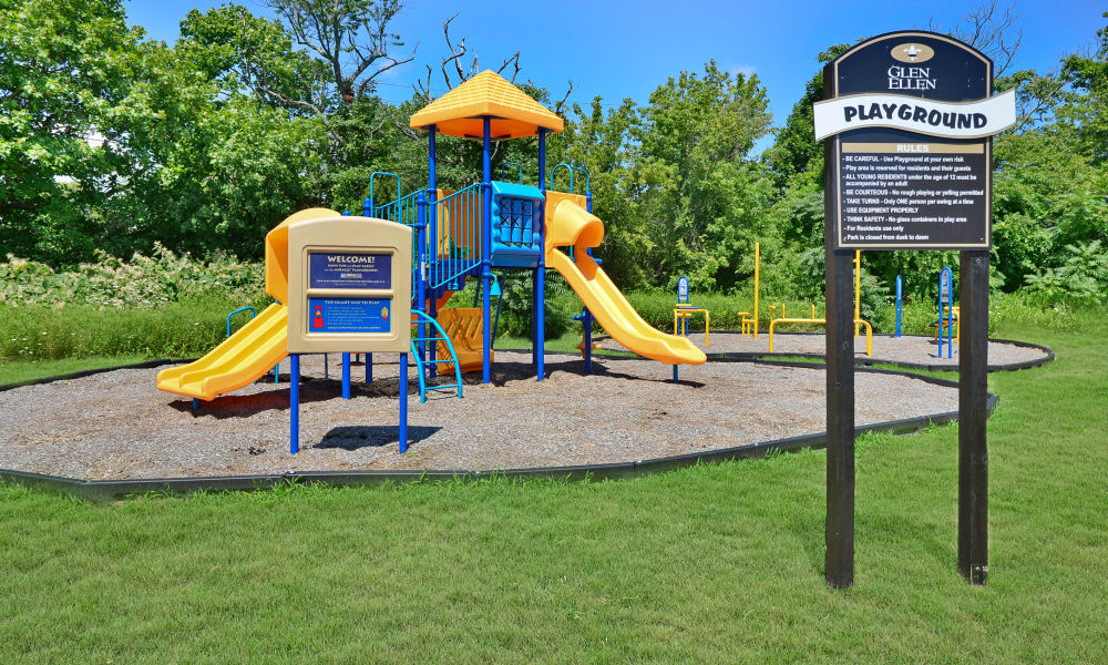 Enjoy Apartments with a Playground at Glen Ellen Apartment Homes