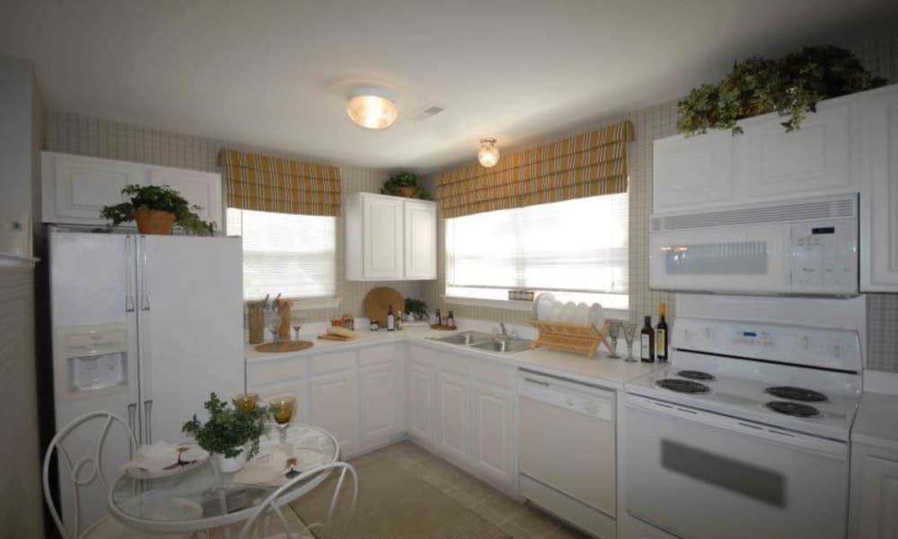 Luxury kitchen at Briarcliff Village apartments