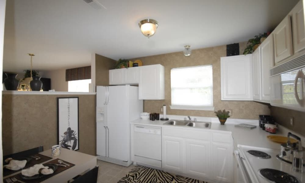 Enjoy a modern kitchen at Briarcliff Village apartments