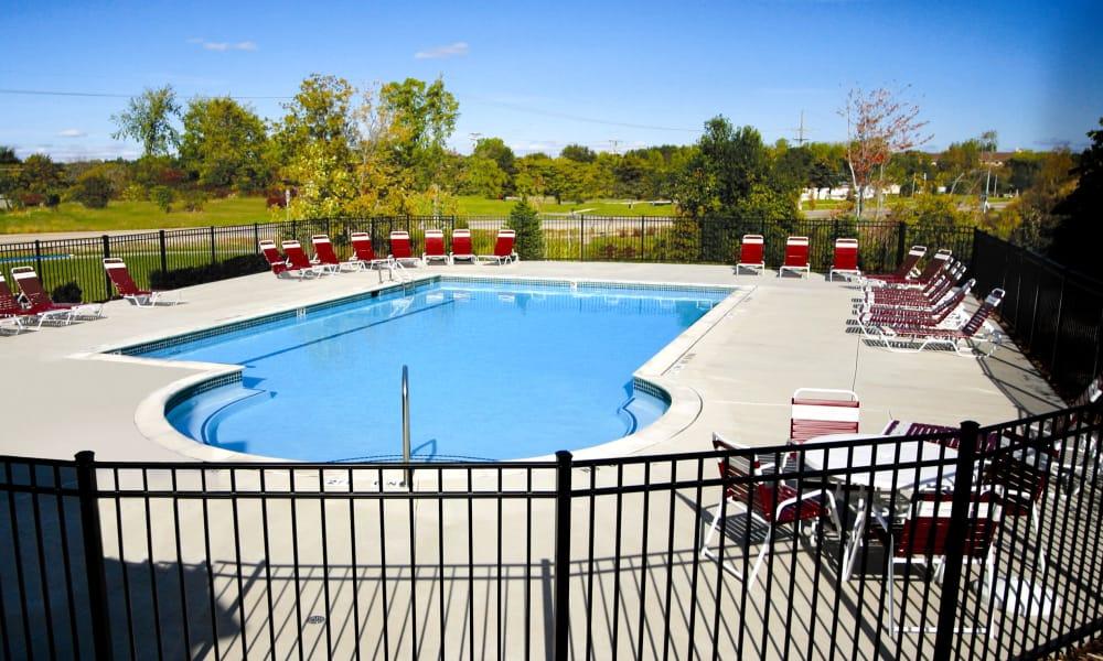 Refreshing pool at Brownstones