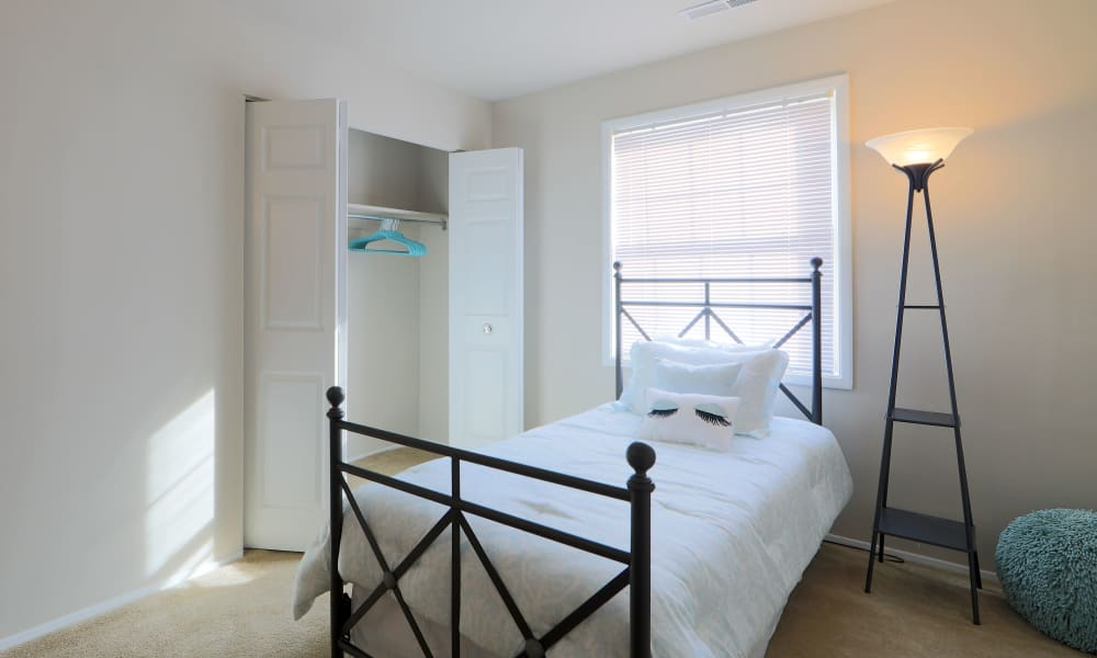 Bedroom at The Preserve at Owings Crossing Apartment Homes in Reisterstown, MD