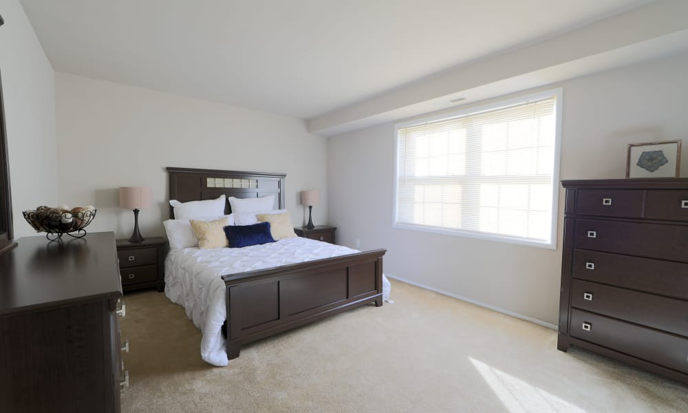 Our apartments in Reisterstown, MD have a naturally well-lit bedroom