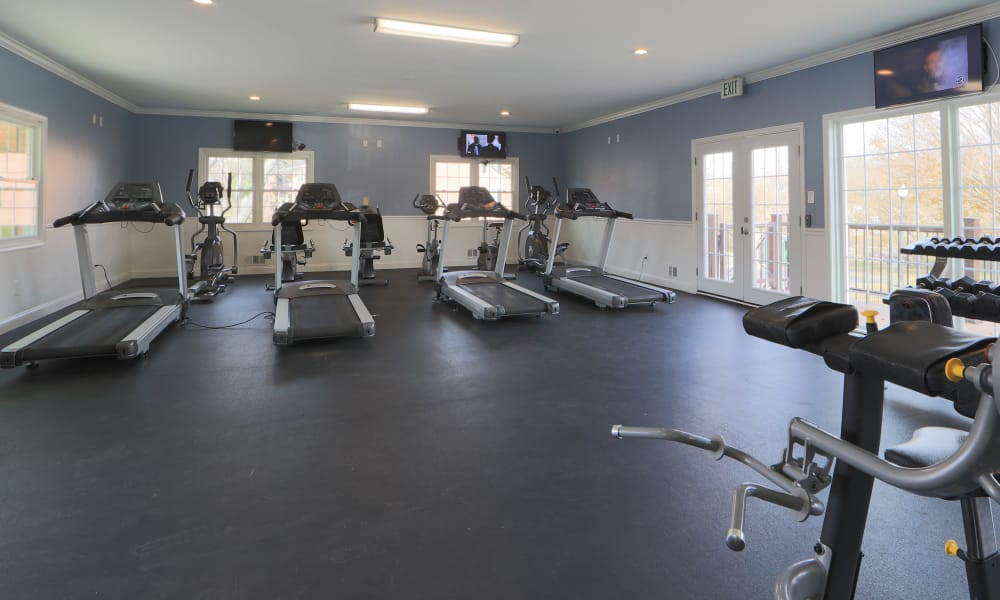 Our apartments in Reisterstown, MD offer a fitness center