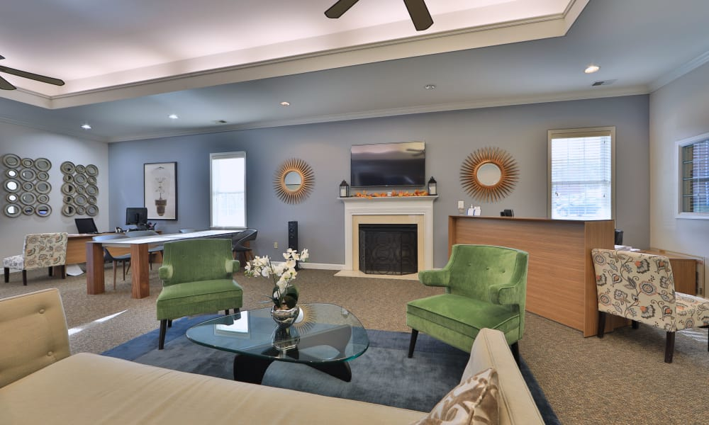 The Preserve at Owings Crossing Apartment Homes offers a spacious living room in Reisterstown, MD