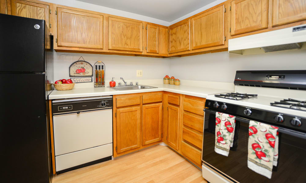 Our apartments in Reisterstown, MD offer a fully equipped kitchen