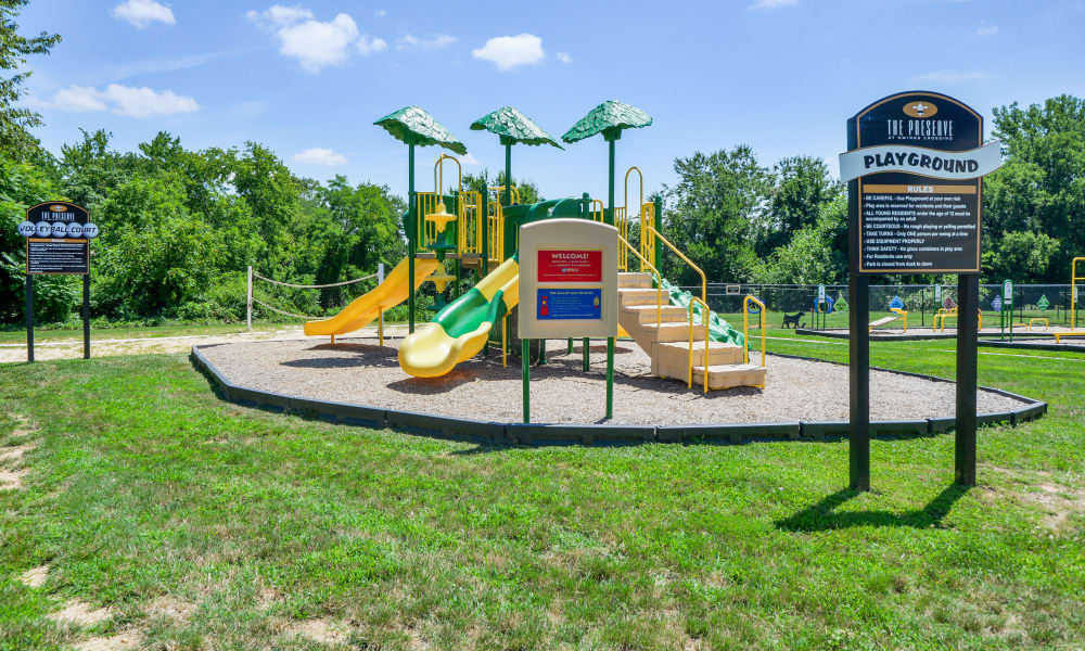 Our apartments in Reisterstown, MD offer a playground