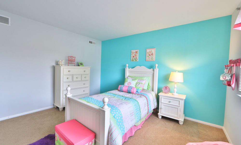 Our apartments in Westminster, MD showcase a spacious bedroom