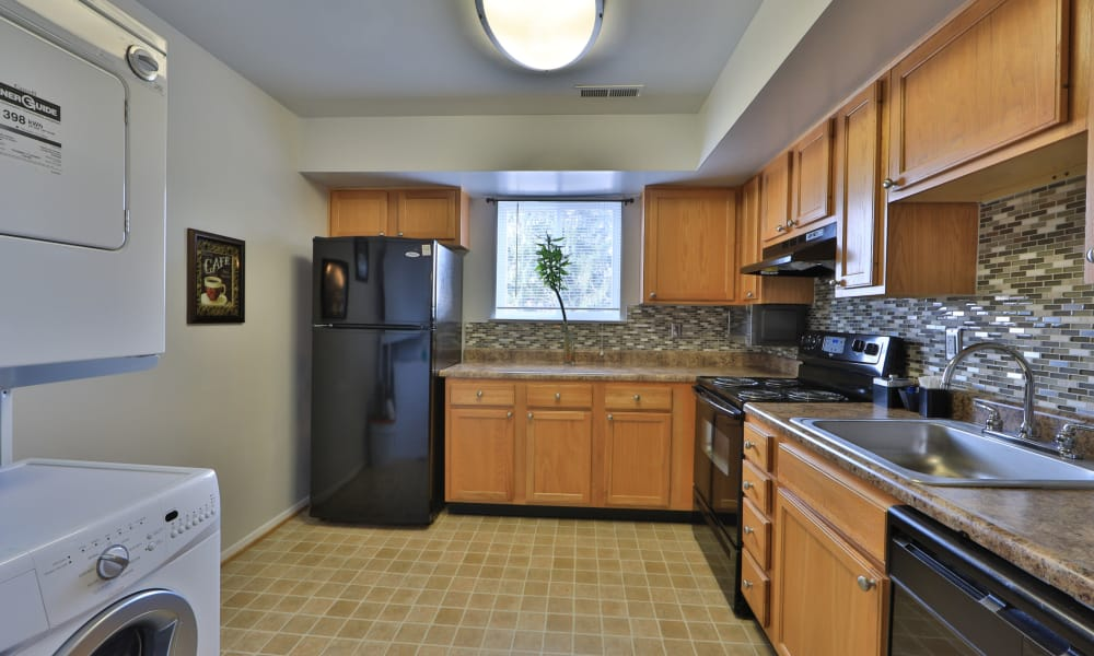 Our apartments in Westminster, MD offer a kitchen room