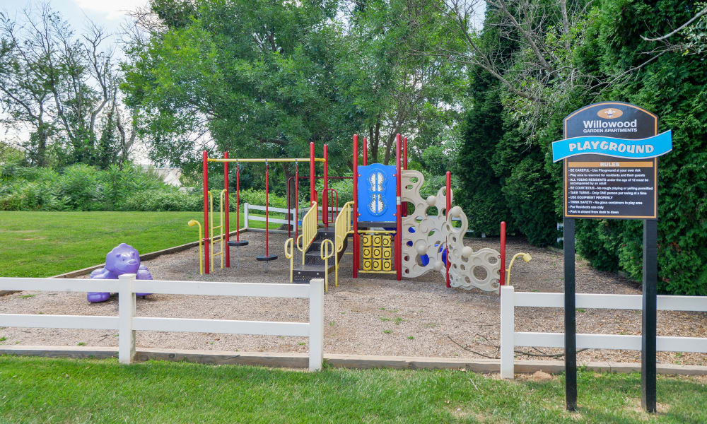 Playground at Willowood Apartment Homes in Westminster, MD