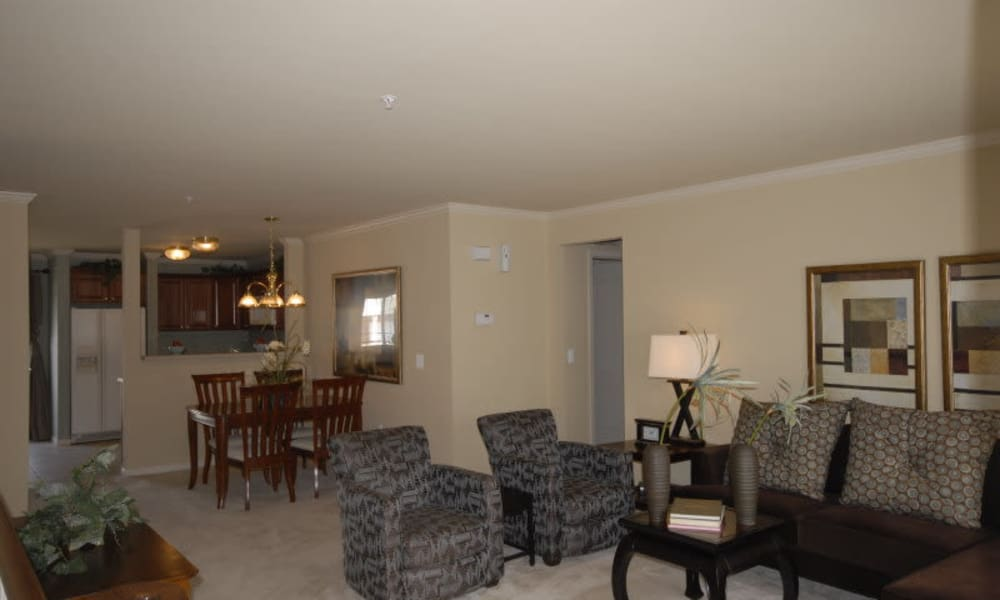 Ample living space at CiderMill Village apartments
