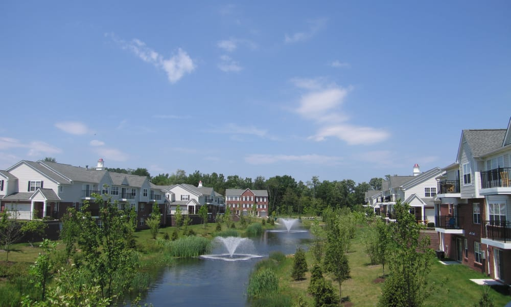 View of the CiderMill Village community