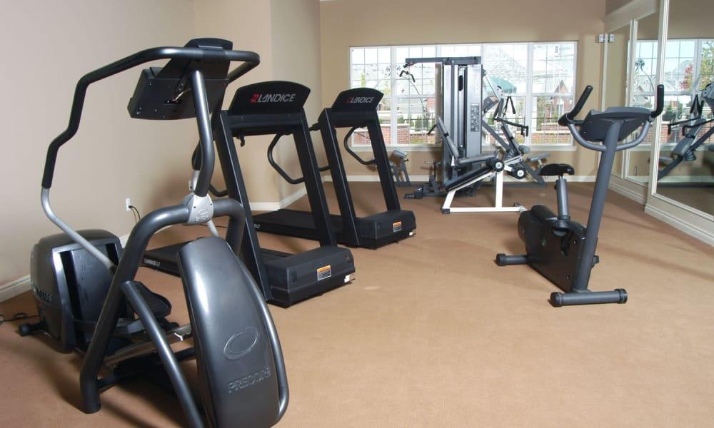 Fitness center at CiderMill Village