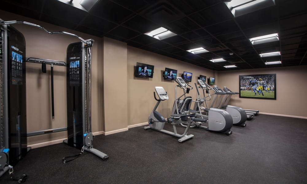 MainCentre's on-site fitness center