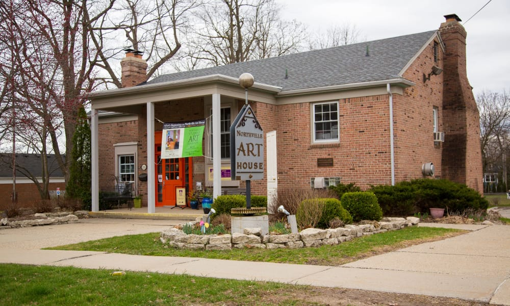 Arthouse in the Northville historical village