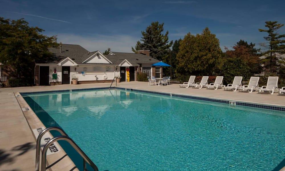 Long swimming pool at Northridge