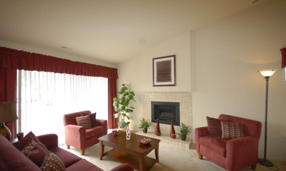 Northridge apartment living room