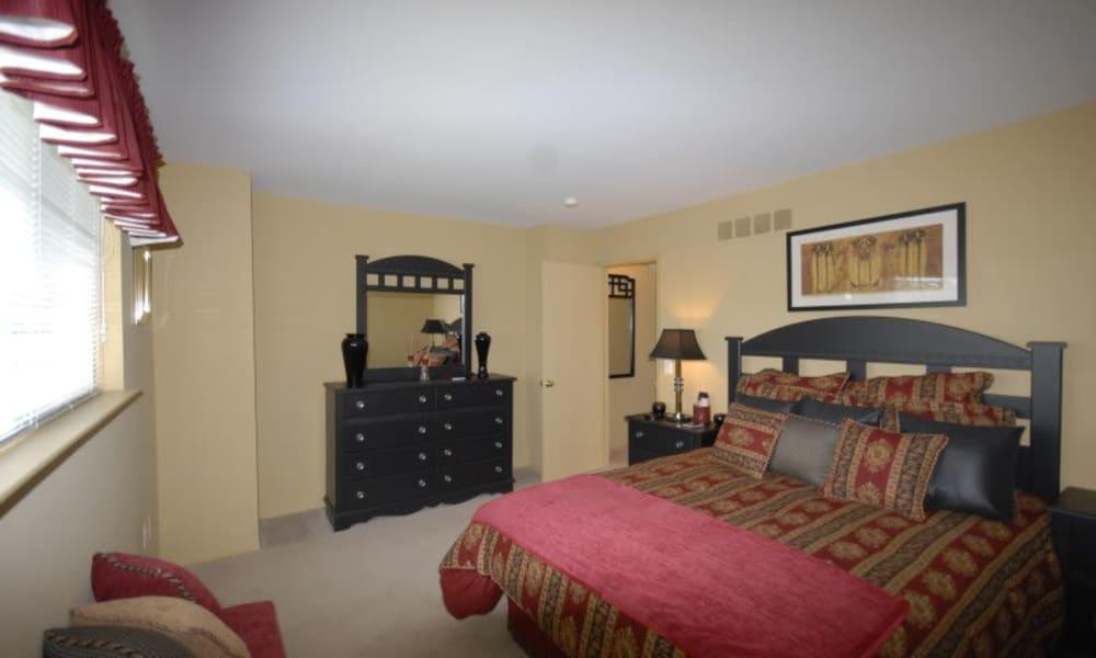 Master bedroom at Northridge homes