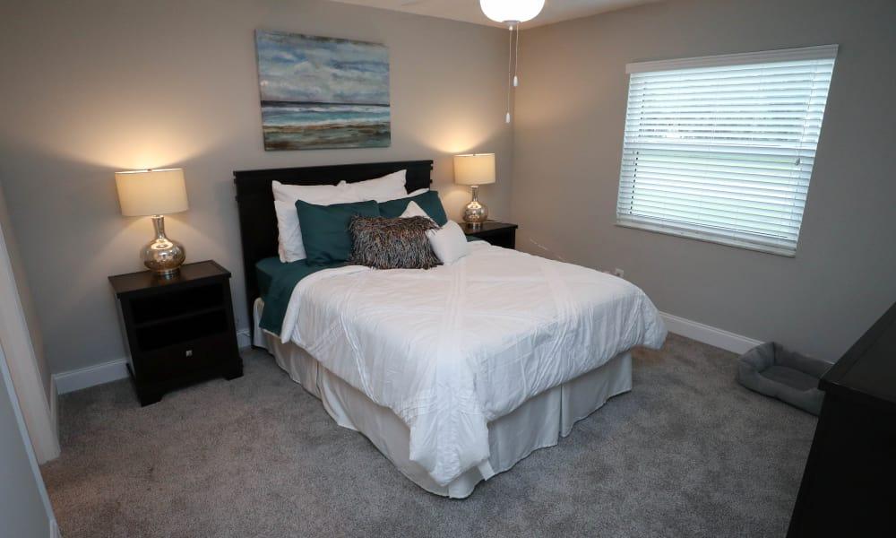 Ridgeview Apartments large master bedroom in Seminole, Florida