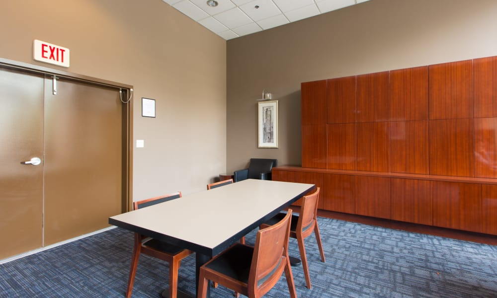 Small conference room at Metropolitan Towers in Vancouver