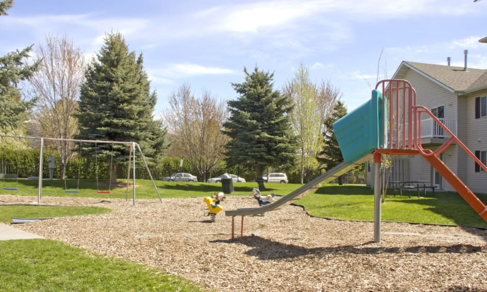 Children's playplace at Mountain View Apartments
