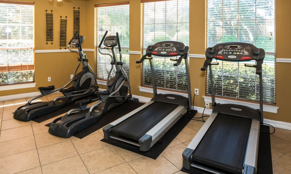 Heritage Fields offers a fitness center in Arlington, TX