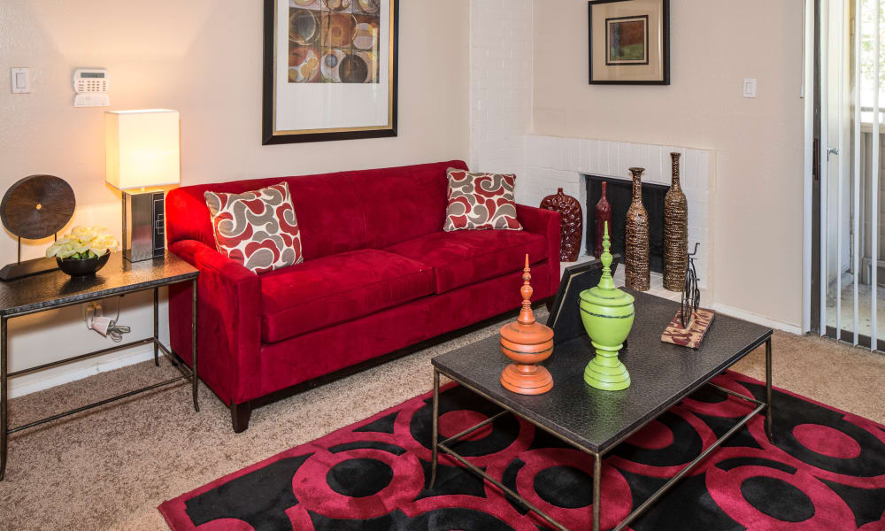 Our apartments in Arlington, TX offer a living room