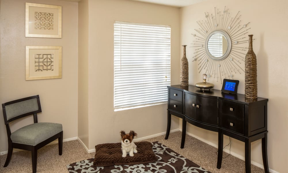 Apartment interior at Ridgewood Preserve in Arlington, TX