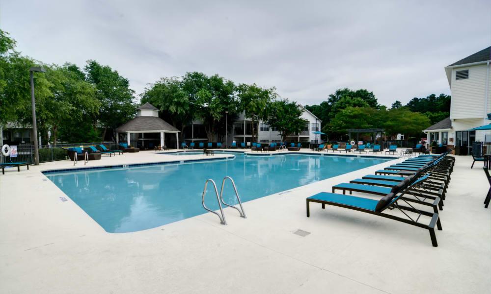 Pool at Harrison Grande