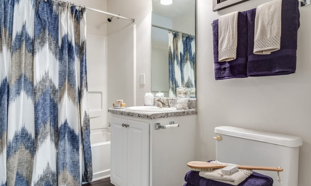 Bathroom at Harrison Grande