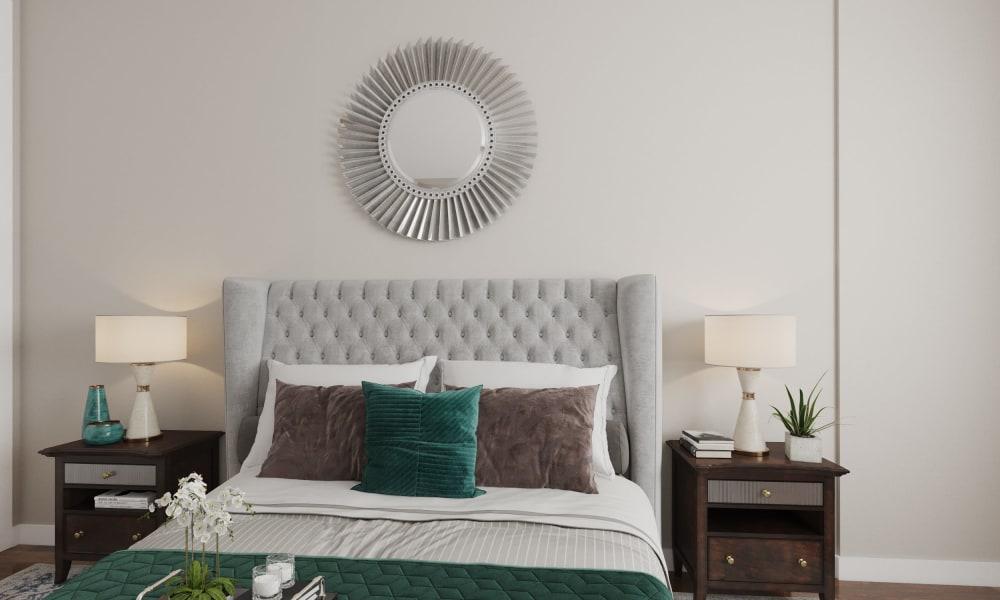 Glenmore Gardens master bedroom