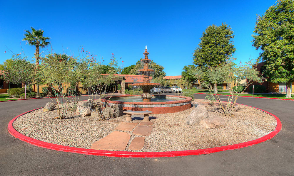 Fountain at Verona Park Apartments