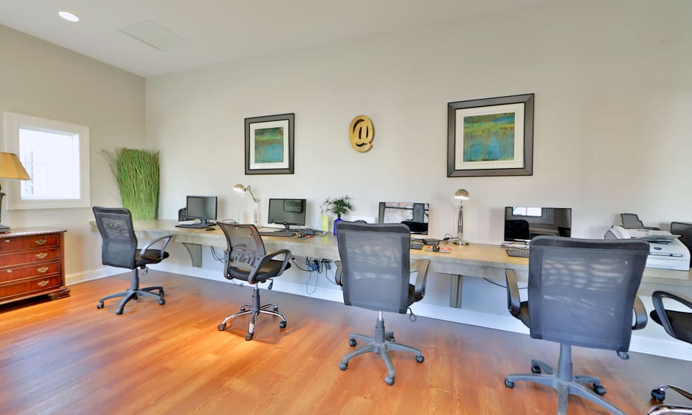 Silver Spring Station Apartment Homes offers a business center in Baltimore, MD
