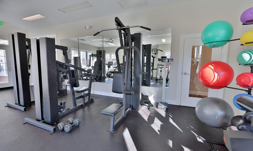 Our apartments in Baltimore, MD offer a fitness center