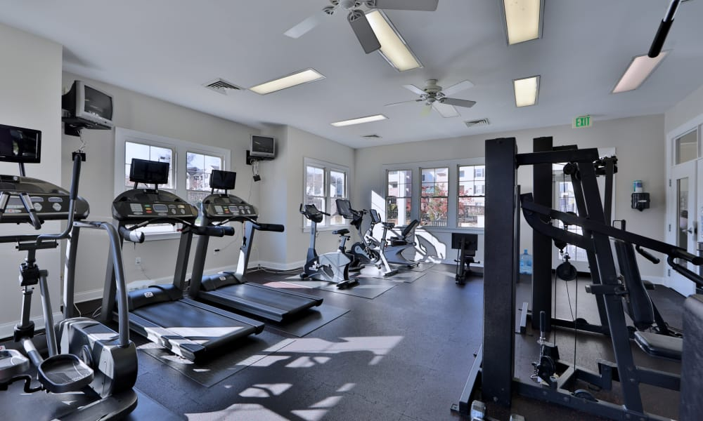Silver Spring Station Apartment Homes offers a fitness center in Baltimore, MD