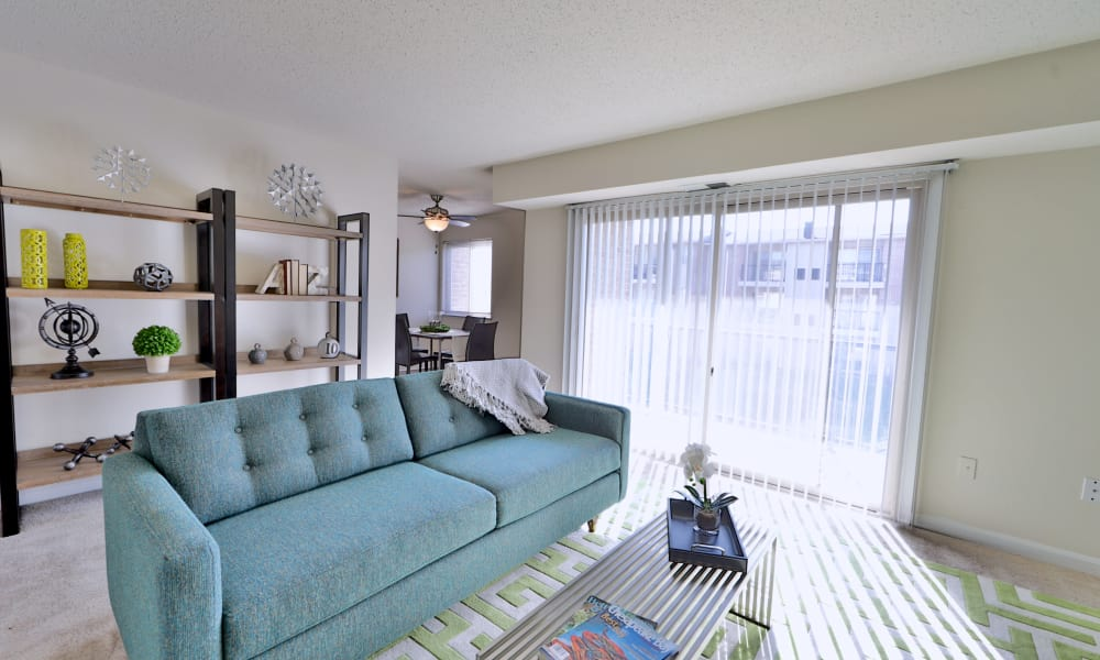 Our apartments in Middle River, MD have a naturally well-lit living room