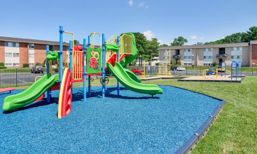 Seneca Bay Apartment Homes offers a playground in Middle River, MD