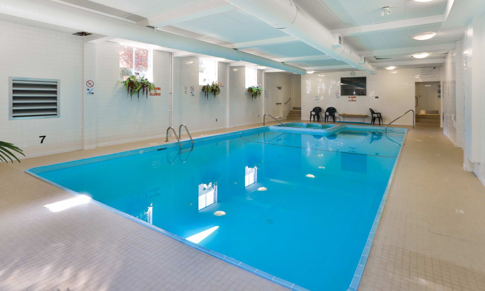 Our apartments in Victoria, BC offer a swimming pool
