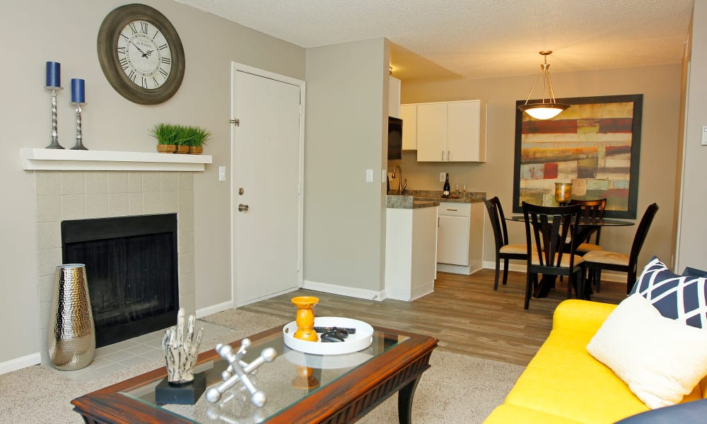 Ample living space at The Preserve at City Center