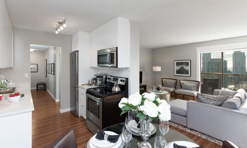 Our apartments in Burnaby, BC showcase a beautiful interior