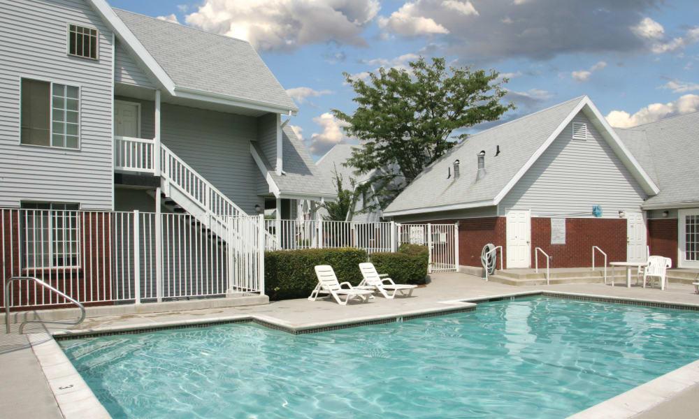 Refreshing pool at Windgate Apartments