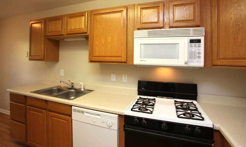 The Avenue offers a luxury kitchen in Greensboro, North Carolina
