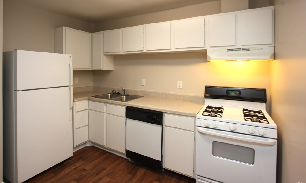 Enjoy apartments with a modern kitchen at The Avenue