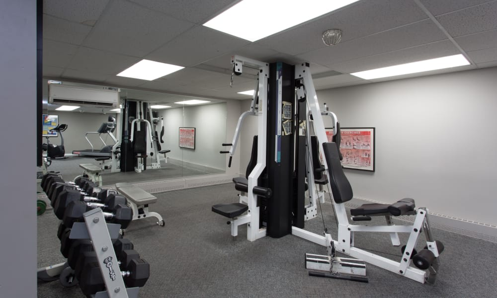 Our apartments in Calgary, AB offer a fitness center