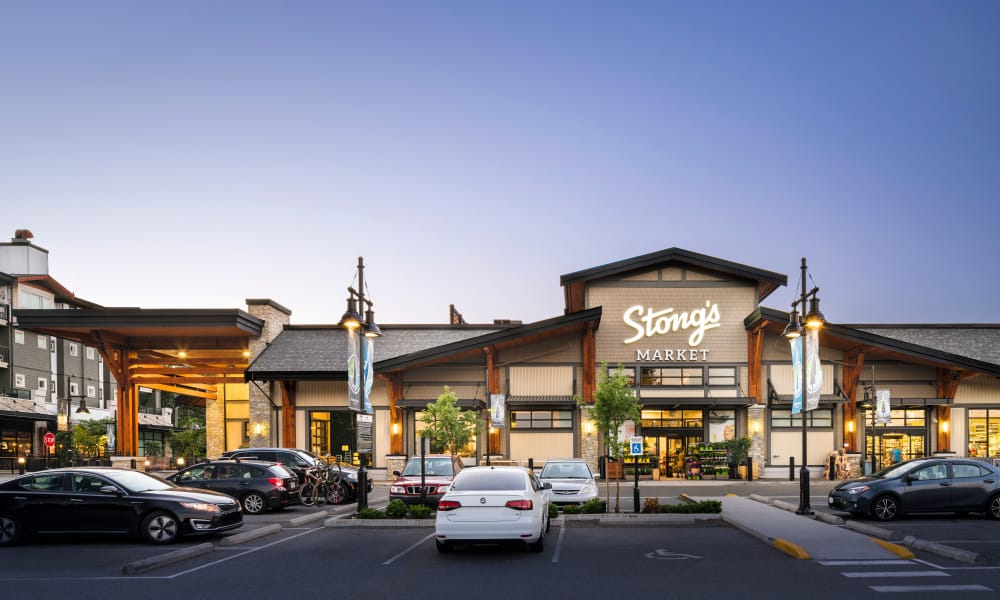 Stongs market near Northwoods Village in North Vancouver, BC