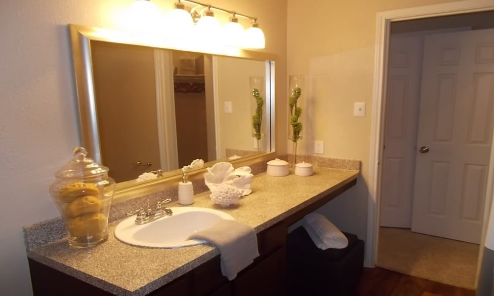 Bathroom at Avalon Villas in Irving