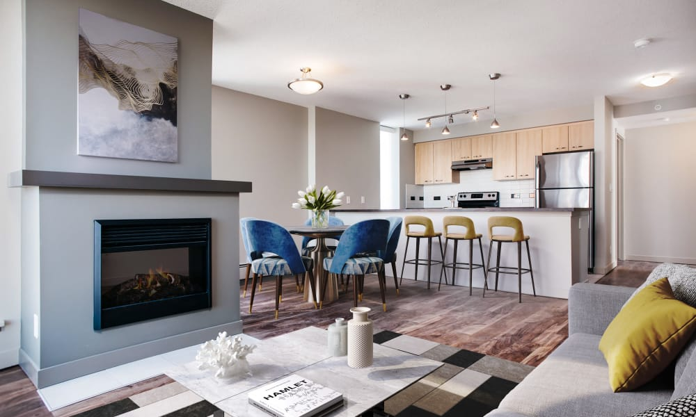 Modern floor plans at Rouleau in Calgary
