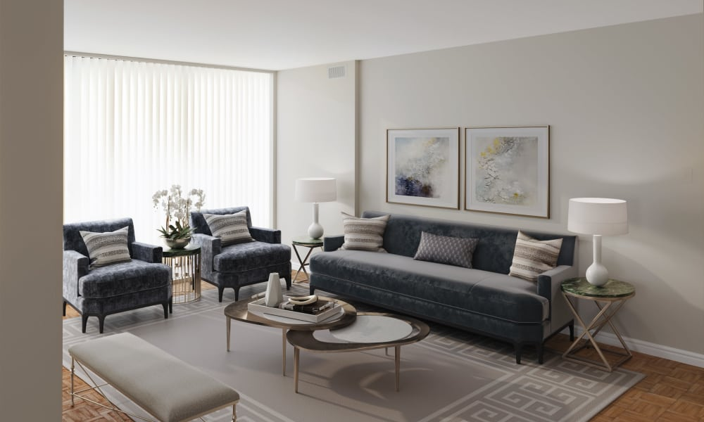 10 Lisa showcases a modern living room in Brampton
