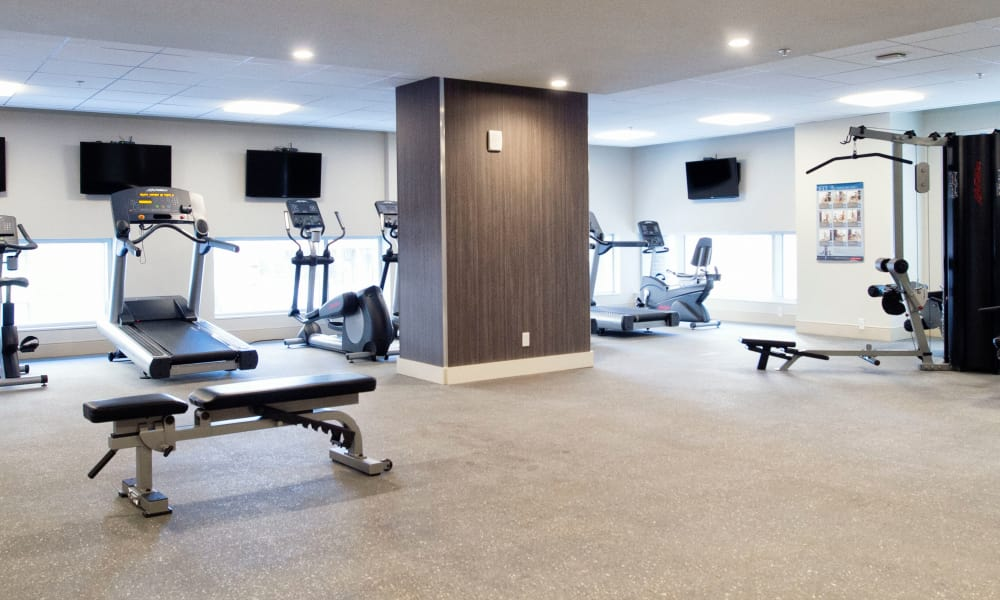 19Twenty Apartments offers a fitness center in Halifax, Nova Scotia