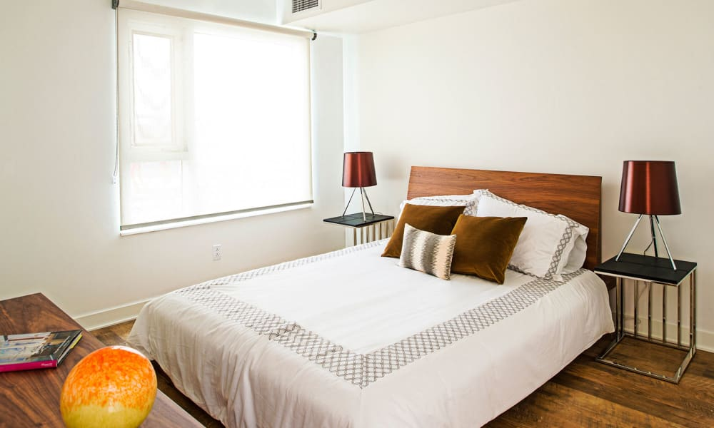 Our apartments in Halifax, Nova Scotia have a naturally well-lit bedroom