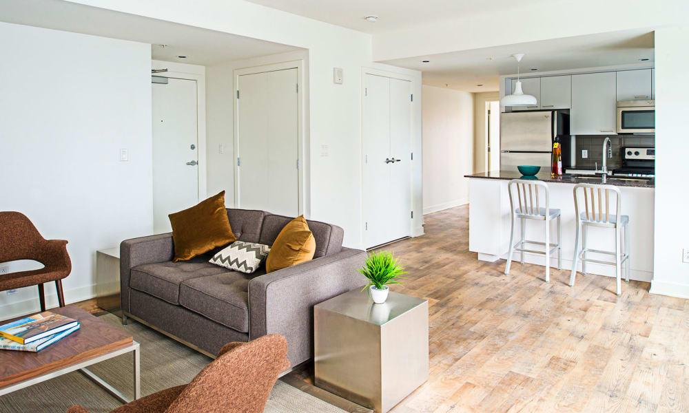 Beautiful interior at 19Twenty Apartments in Halifax,Nova Scotia